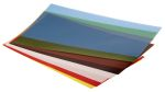 Product image for Assorted plastic shim stock,12x6in