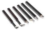 Product image for 6 piece lathe tool set,125Lx9.5Tmm
