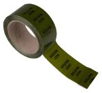 Product image for Pipe marking tape 'HOT WATER',50mmx33m