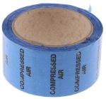 Product image for Pipe marking tape 'COMPRESSED AIR',50mm
