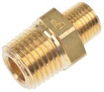Product image for Male BSPT nipple adaptor,1/8inx1/4
