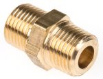 Product image for Male BSPT nipple adaptor,1/8inx1/8