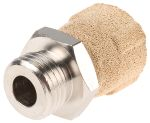 Product image for Sintered bronze restrictor/silencer,G1/4