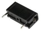 Product image for Black PCB socket,4mm