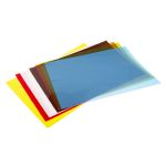Product image for Assorted plastic shim stock,18x12in