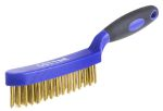 Product image for 4 row brass wire brush