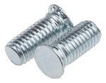 Product image for Self clinching captive stud,M4x10mm