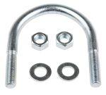 Product image for Zinc plated steel U bolt,78mm OD