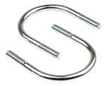 Product image for Zinc plated steel U bolt,90mm OD