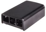 Product image for 2-piece black case for Raspberry Pi