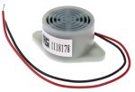 Product image for Electro Mechanical  Buzzer 12VDC 95dB