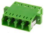 Product image for LC/APC QUADPLEX GREEN Adapter