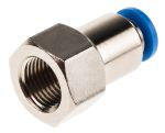 Product image for Push-in Fitting, Female G1/8, 4mm