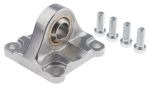Product image for Aluminium Swivel Flange, 80mm