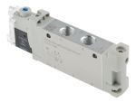 Product image for 5/2 Solenoid Valve, 14mm, G1/8, H2 pin