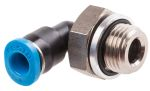 Product image for Push-in Elbow Fitting, Male G1/8, 4mm