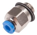 Product image for Push-in Fitting, Male M5, 2mm