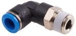 Product image for Push-in Elbow Fitting, Male R3/8, 10mm