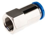 Product image for Push-in Fitting, Female G1/4, 10mm