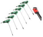 Product image for 14 Piece T-Handle and L TORX Key Set