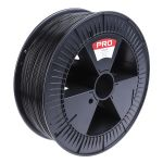 Product image for RS Pro Black PLA 1.75mm  filament 2.3kg