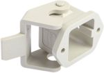 Product image for Top entry panel mount plastic housing,3A