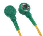 Product image for Grounding connection cord, 1 Mohm 2m L