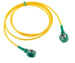 Product image for Grounding connection cord, 1 Mohm 1m L
