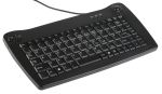 Product image for RS Pro UK PS2 Trackball Keyboard Black