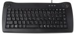 Product image for RS Pro Mini USB TB Keyboard  Blk Azerty