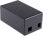 Product image for Arduino Uno Ethernet Shield Case - Black