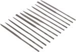 Product image for 12 Piece Needle File Set 160mm
