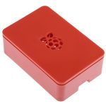 Product image for Raspberry Pi 3 Enclosure, Red