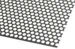 Product image for Perforated 304 s/steel sheet,4.8mm dia