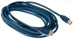 Product image for 5mtr USB 3.0 A M - A F Extension Cable -