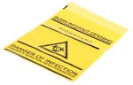 Product image for Self seal biohazard waste bag,25pcs