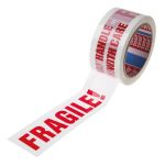 Product image for PRE PRINTED TAPE'HANDLE WITH CARE',66M L