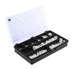 Product image for 650 piece nylon metric nut kit