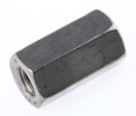 Product image for A4 s/steel hex connecting nut,M6x18mm