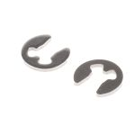Product image for E type s/steel circlip,2.3mm groove