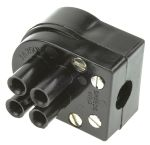 Product image for 4 way polarised cable plug,3A 250Vac