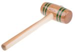 Product image for Cylindrical hardwood mallet,750gm