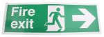 Product image for PET FIRE EXIT, Fire Exit, English, Exit Sign