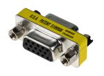 Product image for 15 pin VGA port F-F gender changer