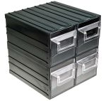 Product image for 4draws clr storage cabinet,222x208x208mm