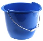 Product image for Blue plastic bucket, 10 litre