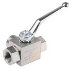 Product image for G1/2 BSPP three way diverter ball valve
