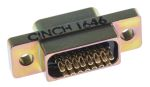 Product image for 15way metal unterminate micro D plug,3A
