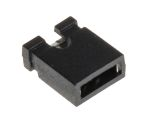 Product image for Black 2 way open shorting link,2.54mm