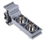 Product image for Double deck DIN rail BNC adaptor,75ohm